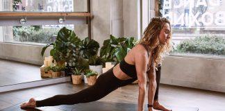 yoga vrouw