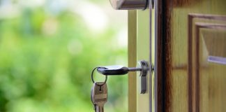 sleutel deur